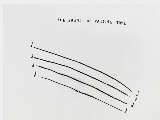 The sound of passing time