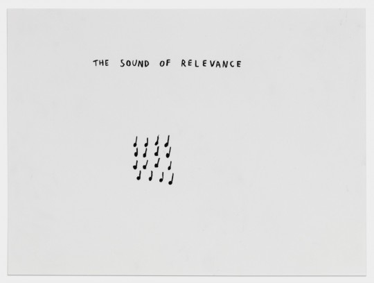 The sound of relevance